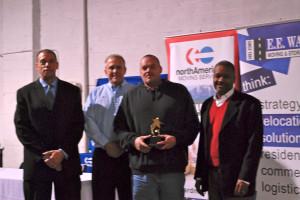 From left: Brian Brooks, Hal Byram, Deron Gasper, Otto Beatty