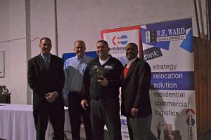 From left: Brian Brooks, Hal Byram, Robert Daniels, Otto Beatty