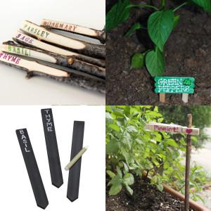 E.E. Ward DIY Garden Markers