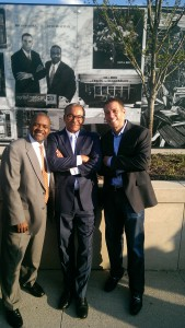 Otto Beatty, Mayor Coleman, Brian Brooks